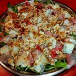 Salatka z melonem,gorgonz...