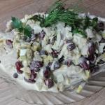 Salatka sledziowa z czerw...