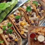 Tacos z sałatką...