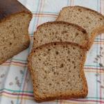 Chleb z zakwasem zurkowym...