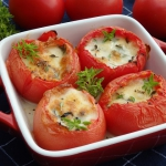 Pomidory zapiekane z mozz...