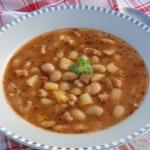 Szybka zupa z biala fasol...