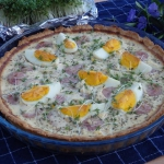 Wielkanocna tarta z biala...
