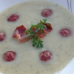 Zupa krem ziemniaczany z ...