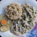 Potrawka z kurczaka z gro...