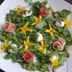 Wiosenna salatka z forsyc...