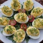Jajka z pasta chrzanowa