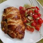 Kurczak nadziewany piecza...