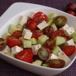 Prosta salatka pomidorowo...