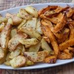 Pieczone bataty/ziemniaki...