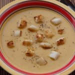 Kremowa zupa dyniowa z go...