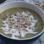 Kremowa zupa z brokuła