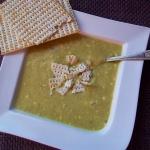 Kremowa zupa z pora