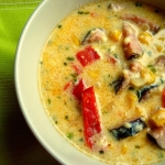 Kolorowa zupa z...