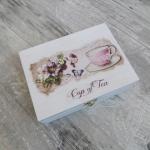 Pudełka na herbatę.