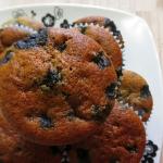 Muffiny z jagodami.