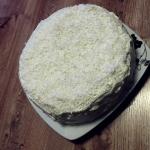 Tort kokosowy.