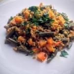 Kaszotto warzywne z curry