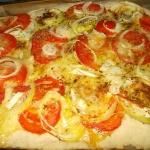 Pizza z pomidorami,...