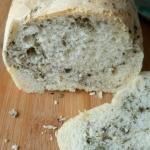 Chleb z oliwkami i bazyli...
