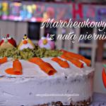 Świateczny tort marchewk...