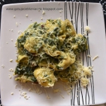 Tortellini z zielonym...