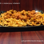 Spaghetti z ciecierzycą...