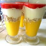 jogurtowy deser - mango t...