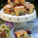 ciasto owocowe na oleju