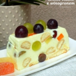 lekkie ciasto z winogrone...