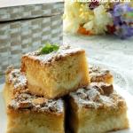 ciasto z gruszkowym serem
