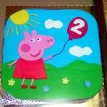 tort ze Świnką Peppą
