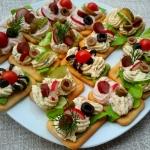 kanapeczki na krakersach