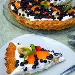 francuska tarta z owocami