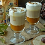 Dyniowa latte z syropem...