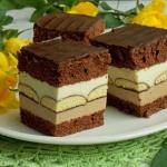 Mleczne ciasto z czekolad...