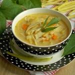Serowa zupa z fasolka szp...