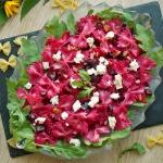 Rozowa salatka makaronowa...