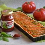 Pomidorowa tarta z zielon...