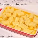 Pierogi leniwe z masłem...