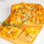 Pizza z ziemniakami...