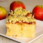 Maslane ciasto z jablkami...