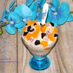 Owsiany deser z jogurtem ...
