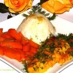 Sola w sosie curry z...