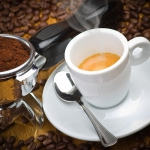 Kawa z wodą różaną,...