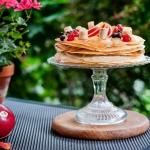 Tort nalesnikowy z owocam...