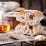 Włoski chleb ciabatta