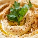 Idealny arabski hummus...