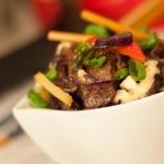 Stir-fry z marynowaną...