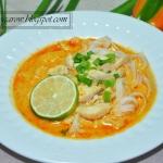Tajska zupa curry z kurcz...